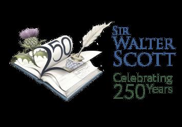 Sir Walter Scott 250 anniversary logo
